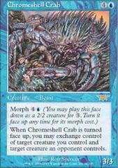 Chromeshell Crab on Channel Fireball