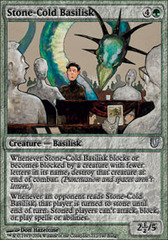 Stone-Cold Basilisk on Channel Fireball