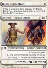 Bushi Tenderfoot on Channel Fireball