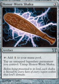 Honor-Worn Shaku