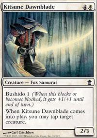 Kitsune Dawnblade