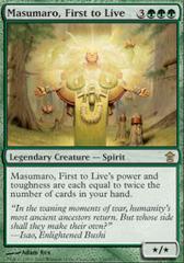 Masumaro, First to Live
