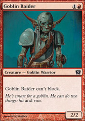 Goblin Raider on Channel Fireball