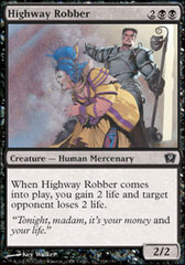 Highway Robber on Channel Fireball
