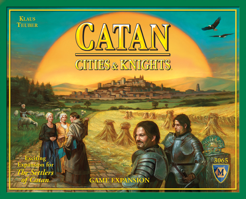 Catan Cities and Knights Game