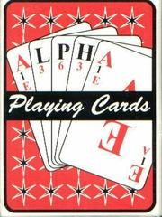Alpha Playing Cards