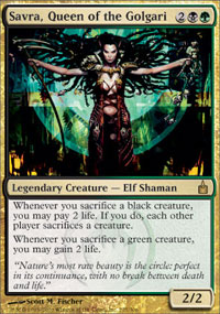 Savra, Queen of the Golgari