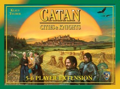 Catan: The Cities and Knights of Catan - 5-6 Player Expansion