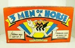 3 Men on a Horse