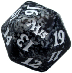 Magic Spindown Die - Magic 2015 - Black