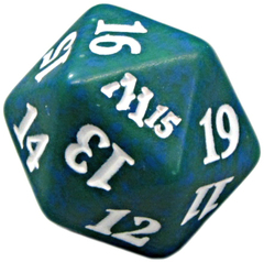Magic Spindown Die - Magic 2015 - Green