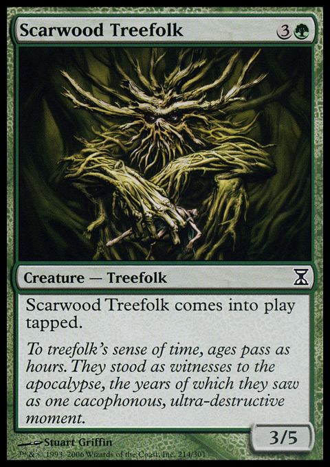 Scarwood Treefolk