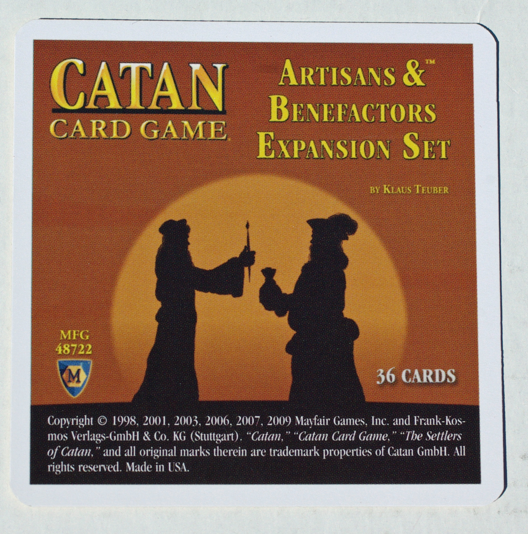 The Settlers of Catan Card Game - Artisans & Benefactors