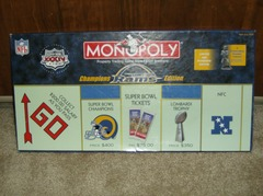 Monopoly: St. Louis Rams Champions Edition