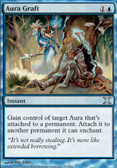 Aura Graft on Channel Fireball