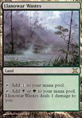 Llanowar Wastes on Channel Fireball