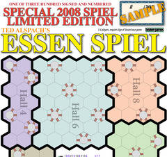 Age of Steam Expansion: Special 2008 Spiel Limited Edition; Essen Spiel & Secret Blueprints of Steam Plan #3