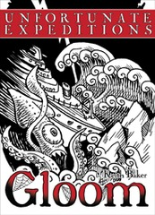 Gloom: Gloom (2nd Edition) - Unfortunate Expeditions expansion (Friendly Local Game Drop)