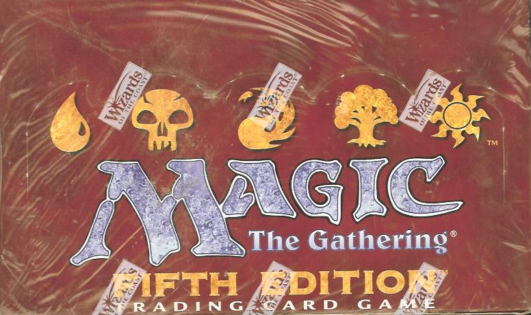 MTG 5th Fifth Edition Booster Box