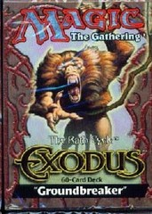 Exodus Groundbreaker Precon Theme Deck