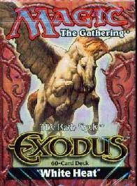 Exodus White Heat Precon Theme Deck