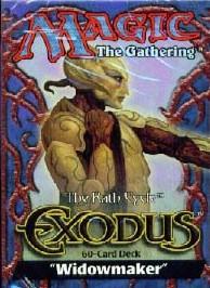 Exodus Widowmaker Precon Theme Deck