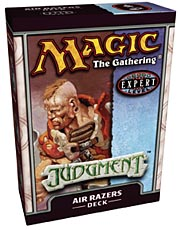 Judgment Air Razors Precon Theme Deck