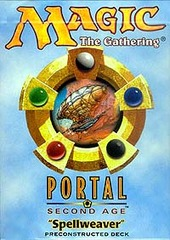 Portal Second Age Spellweaver Precon Theme Deck