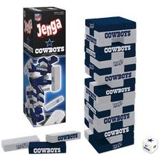 Jenga: Dallas Cowboys Collector's Edition