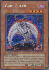 Card Guard - ANPR-EN085 - Secret Rare - 1st Edition