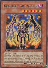 Gaap the Divine Soldier - ANPR-EN096 - Rare - 1st Edition