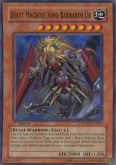 Beast Machine King Barbaros Ur - ANPR-EN097 - Super Rare - 1st Edition on Channel Fireball