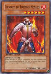Thestalos the Firestorm Monarch - GLD2-EN008 - Common - Limited Edition