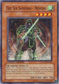 The Six Samurai - Nisashi - GLD2-EN020 - Common - Limited Edition