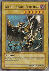 Ally of Justice Clausolas - HA01-EN014 - Super Rare - Limited