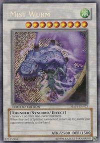 Mist Wurm - HA01-EN023 - Secret Rare - Limited