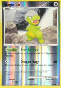 Bagon - SH10 - Holo Rare