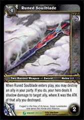 Runed Soulblade