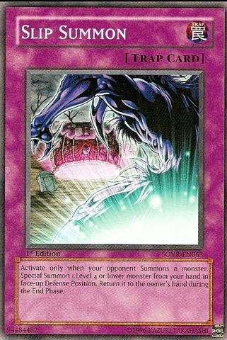 Slip Summon - SOVR-EN063 - Common - 1st Edition