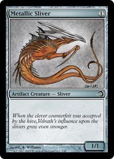 Metallic Sliver - Foil