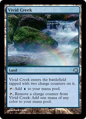 Vivid Creek - Foil on Channel Fireball