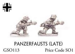 Panzerfausts (late)