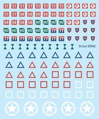 British Decals