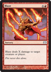 Blaze on Channel Fireball