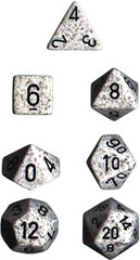 Artic Camo Speckled 7 Dice Set - CHX25311