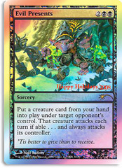 Evil Presents PROMO - 2008 Holiday Foil