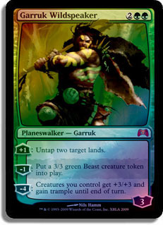 Garruk Wildspeaker - Duel of the Planeswalkers Foil