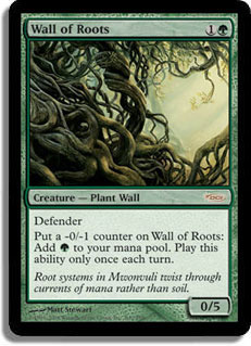 Wall of Roots - Foil FNM 2008