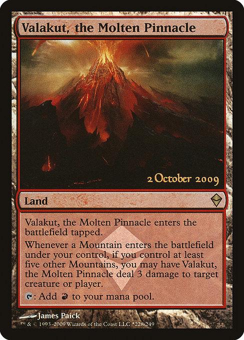 Valakut, the Molten Pinnacle - Foil - Prerelease Promo