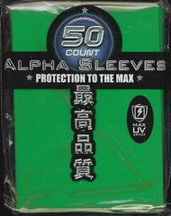 Max Protection Alpha Green Large Sleeves